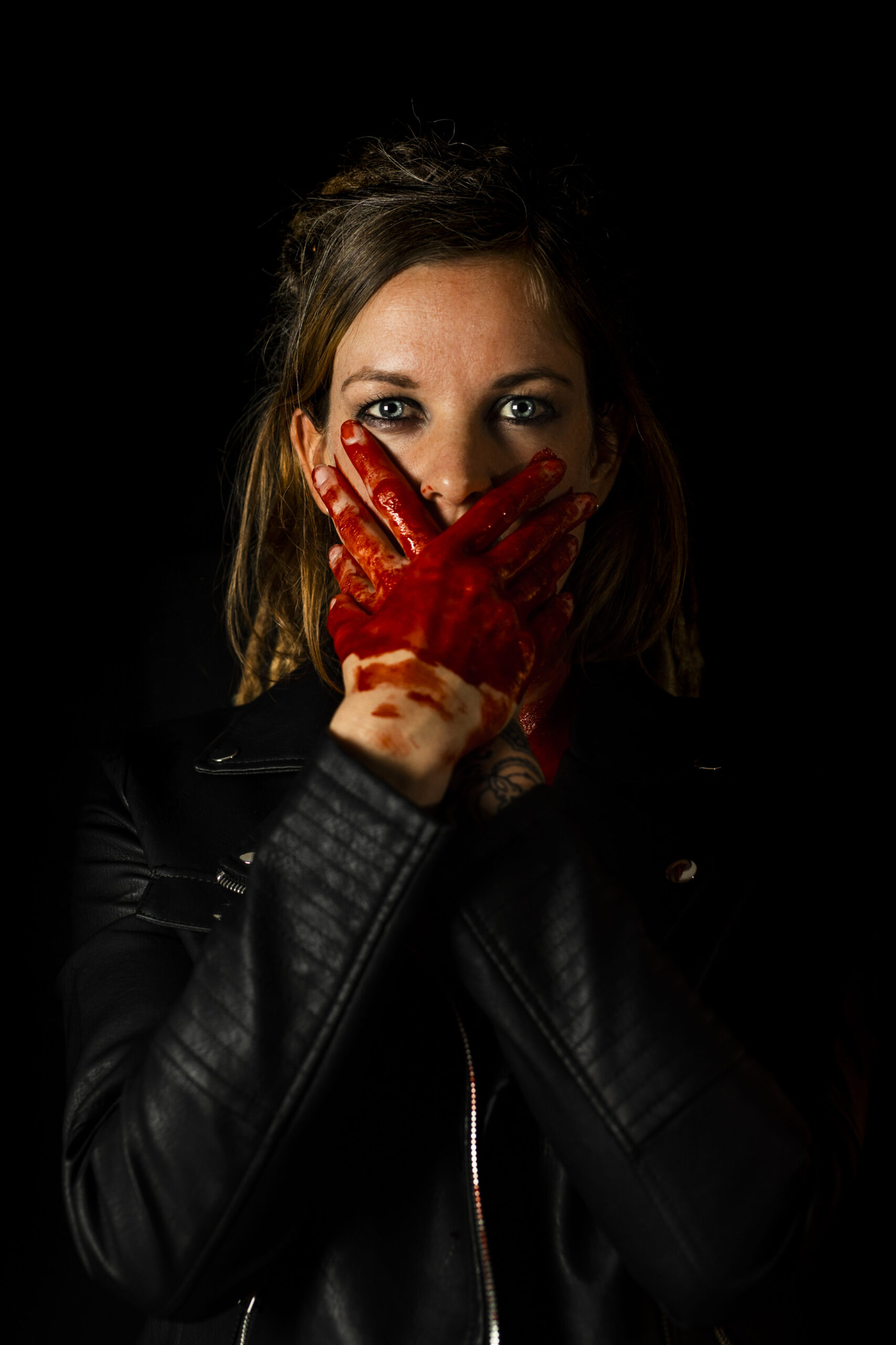 Fashionfotografie, Fashion, Fotograf Luzern, Blood on my hands